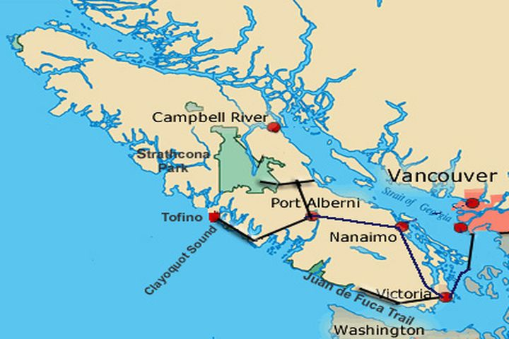 how to get to victoria vancouver island from vancouver