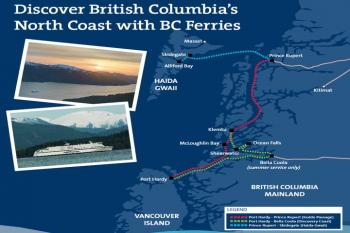 BC Ferries Kanada - Inside Passage und Discovery Coast Passage