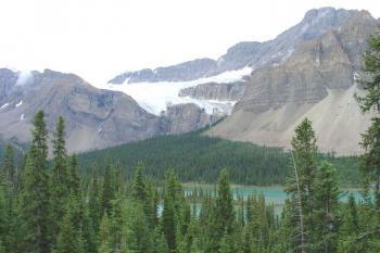 Die Columbia Icefields in den Rocky Mountains