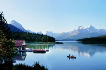 Maligne Lake, Jasper Nationalpark, Bild: Travel Alberta